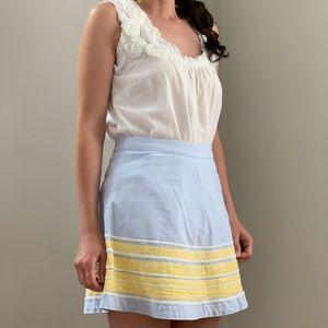 Vineyard Vines Blue Skirt, Size 00
